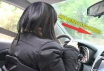 经验交流:新手怎么把车开直线?关键找好参照物!