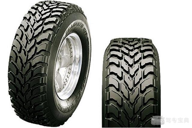 汽车设计72变(8) 轮胎花纹一点不简单!