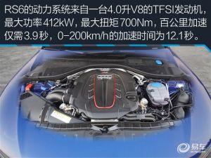 可以和超跑抗衡的旅行车 评测RS6 Avant