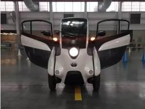 看着像摩托,开着像飞机,其实它是辆电动车!