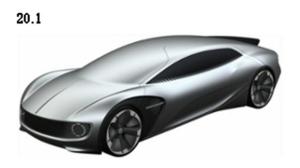 大众多款纯电动概念车专利图曝光