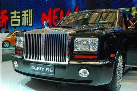 吉利造了台 劳斯莱斯 ,内饰极奢华才12万高清图片