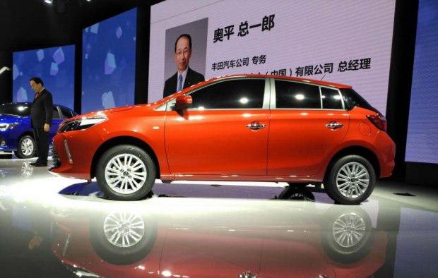 2016广州车展 丰田全新锋势正式发布高清图片
