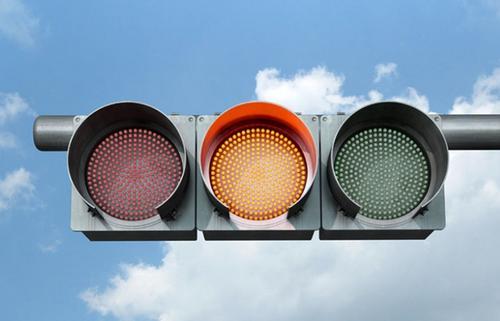 交通信号灯的含义