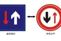 学驾心得:会车如何通行,学车必考项目!