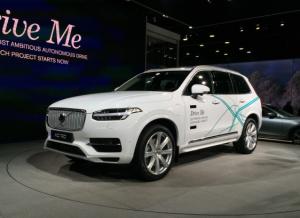 2017北美车展:沃尔沃发布自动驾驶路试计划