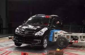 2016最不安全的4款车,连最低标准的中国碰撞测试都不及格