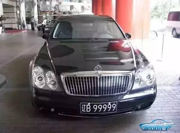 中国第一辆迈巴赫车主不是马云,却比马云土豪20万定车牌,千万豪车