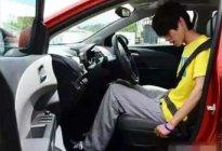 学驾心得:科目二座椅调整技巧