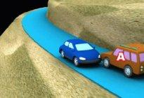 蓝天驾校:会车先行有哪些规定