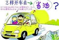 驾驶技巧:新手开车有哪些省油技巧