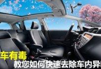 东侨驾校:如何快速去除车内异味