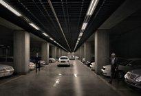 安达驾校百科:小区地下停车场停车技巧解析