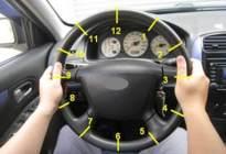 安达驾校:科目三直线行驶方向盘技巧