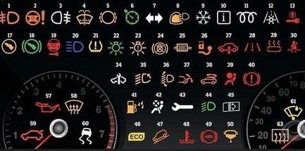 大车故障指示灯图解