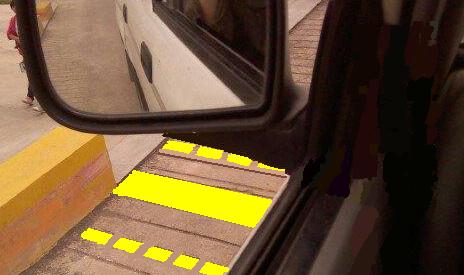 坡道起步定点停车图解