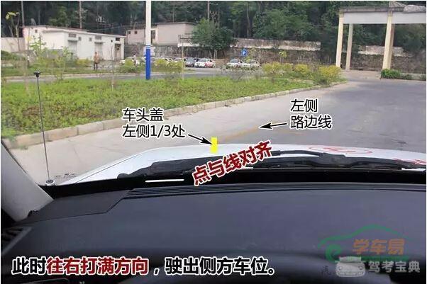 侧挂英�_【科目二】侧方位停车技巧解析