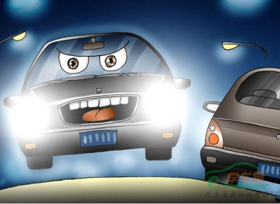 汽车灯光大全