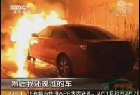 男子花17万买了辆新车第二天发生自燃