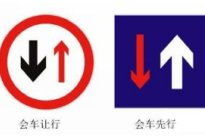 学驾心得:会车先行是什么意思 会车先行和会车让行的区别