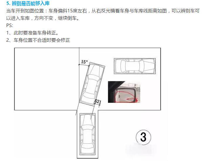 倒车入库尺寸图(以桑塔纳为例) 库宽=车身宽(不含倒车镜)加60cm 库