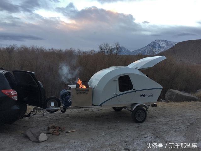 比奇瑞QQ还小 外国公司推出最新拖挂式房车
