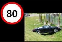 学驾心得:还敢超速吗?给你看看各种速度的汽车撞车后的样子