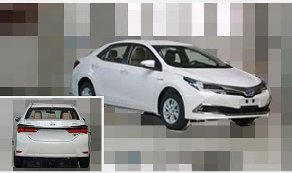 一汽丰田第十代Corolla卡罗拉(新款)明日上市