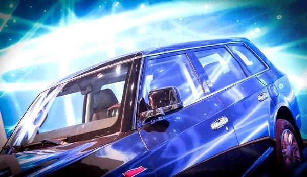 红旗LS5号称最贵国产车 亮相上海车展