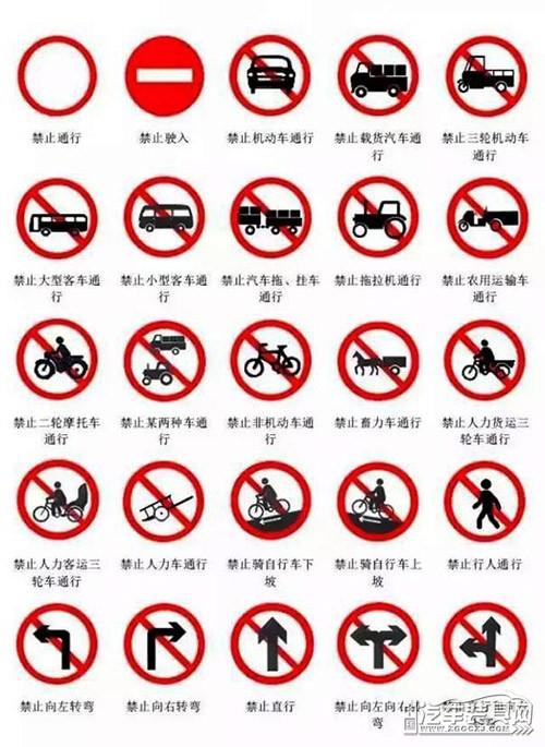 驾校警告标志矢量图