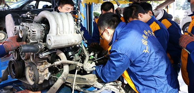 组装,维护保养及零部件更换 3,汽车常规保养 4,汽车电器构造与维修 5