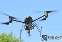 安徽蚌埠无人机空中监控 违规车辆需警戒