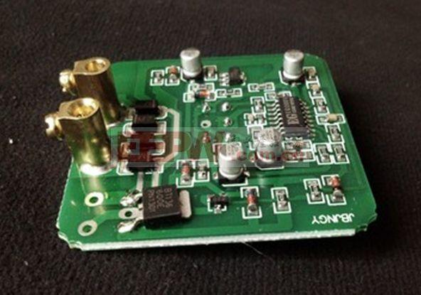 声控开关内部有光敏电阻,碳晶咪头,晶闸管,三极管,电容器等电子元件.