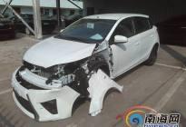 新车上牌途中出车祸 海口男子要求换车遭4S店拒绝