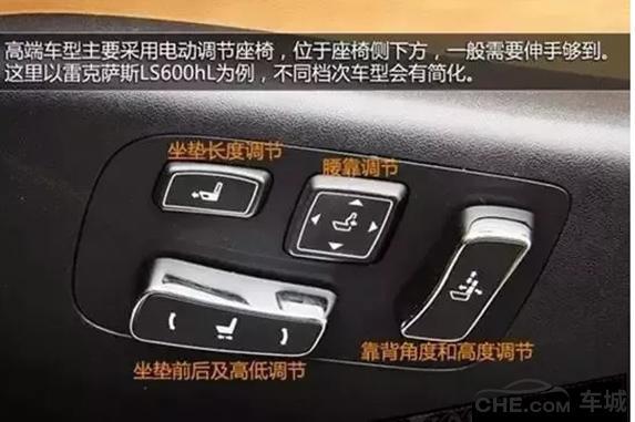 营口市汽车功能按键按钮图解