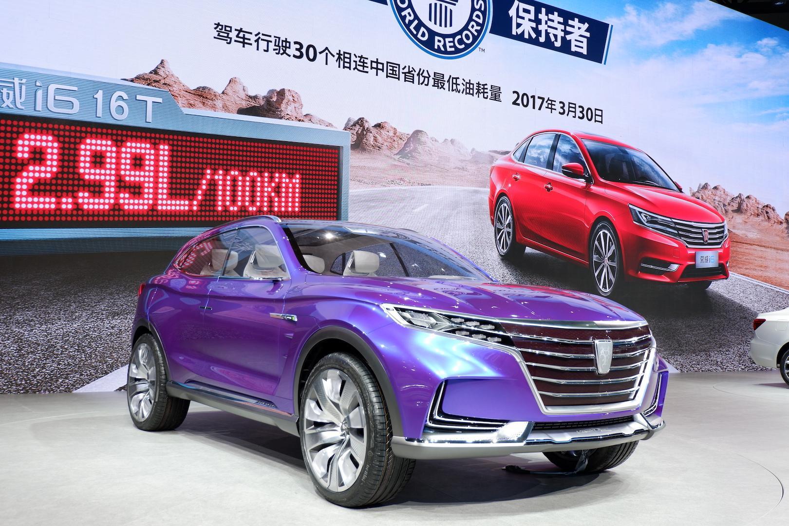 """看看中国自主品牌设计生产的这些新能源汽车有多""""酷炫"""""""