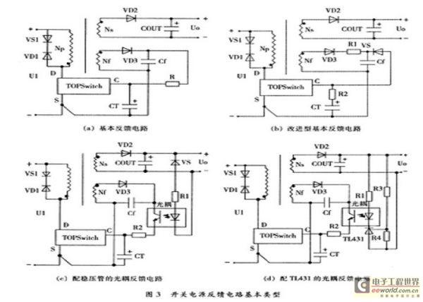 家用开关电源电路图详细图解