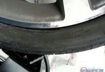 奔驰半年新车,倍耐力轮胎严重开裂
