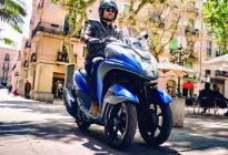 雅马哈发布Tricity 155 新增加ABS系统