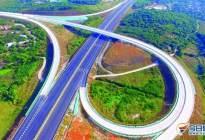 航拍:潮惠高速通车 惠州段设4处互通立交