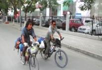骑单车飞奔5000公里