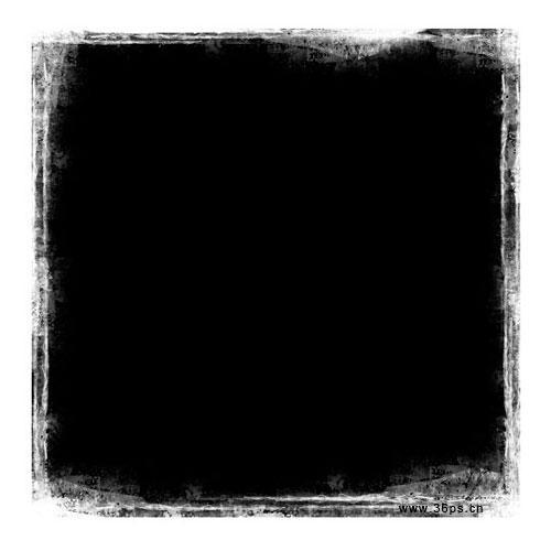 photoshop简单制作一款照片边框(组图)
