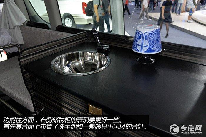 商界新宠 金杯大海狮l商务旅居车评测之内饰篇