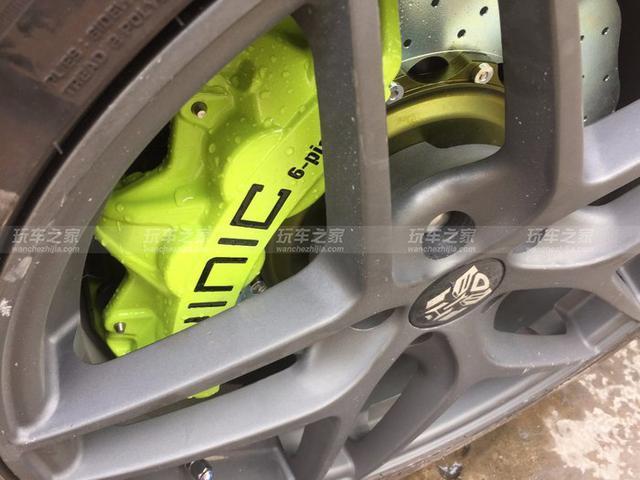 迈锐宝XL改装案例 轮毂刹车升级