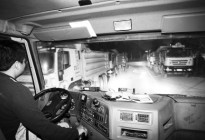郑州市2900余台渣土车被统一监控 时速40公里