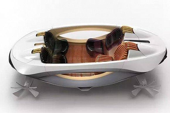 十大未来交通产品创意设计,酷炫黑科技盛宴  这款氢动力的代步概念车