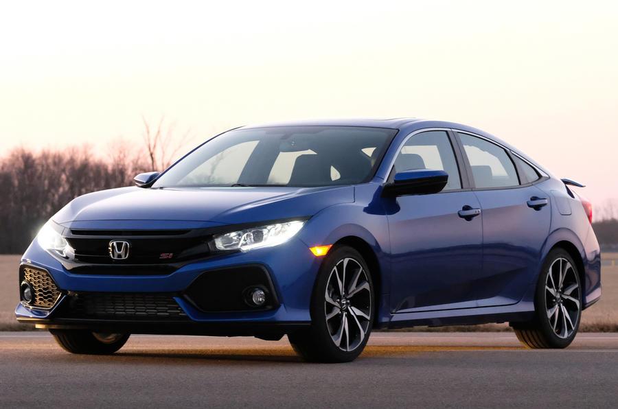本田思域和轿车已在美国市场上首次亮相