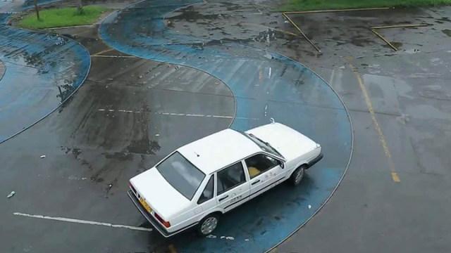 通达驾校:科目二曲线行驶小技巧 看完不怕挂科 送给正在考试的同学