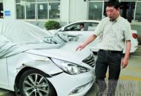 新车在4S店被撞坏 拖了10多天赔偿问题仍没结果
