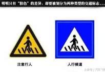 经验交流:这些交通标志长得都一样,你分不清楚那就有大麻烦了